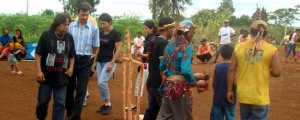 Aty Guassu realizada na aldeia Água Rica em Douradina.
