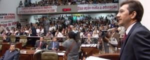Ato de lançamento da Frente Parlamentar em Defesa da Pessoa com Deficência