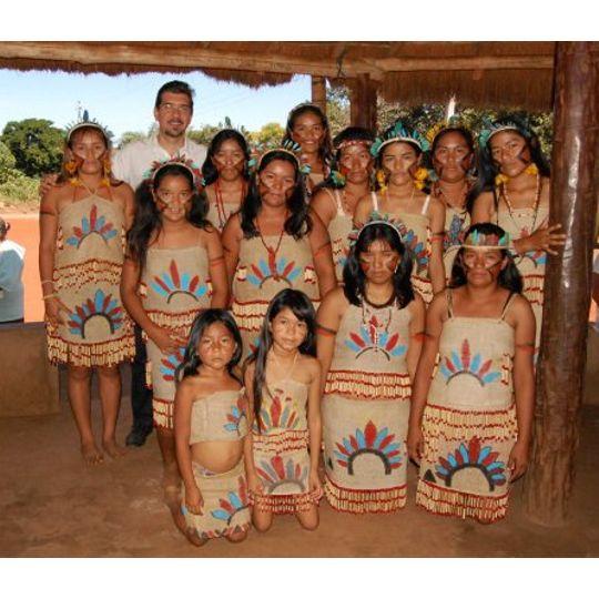 Deputado Kemp participa de atividade em aldeia indígena