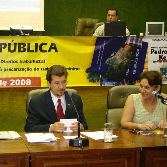 """Audiência Pública """"MS por um trabalho digno"""""""