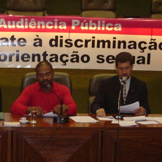 Audiência Pública: Combate à discriminação devido à orientação sexual
