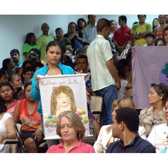 Mulheres participam da audiência Pública sobre a lei Maria da Penha