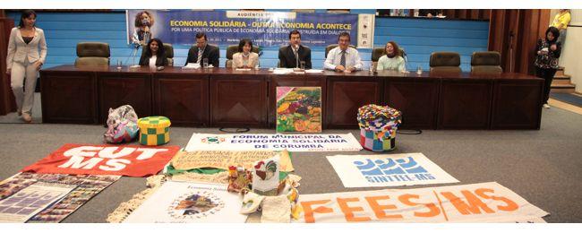 Audiência Pública sobre Economia Solidária, realizada pelo Mandato Pedro Kemp.