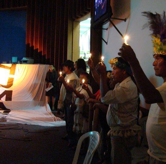Indígenas em sessão solene sobre Declaração Universal dos Direitos Humanos